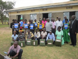 Buliisa District Chairperson Handover Saving & Credit