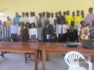 Buliisa District Key Stakeholders and USAID SAFE Team